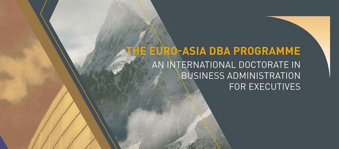 The most distinctive international DBA programme available on the market today - KEDGE